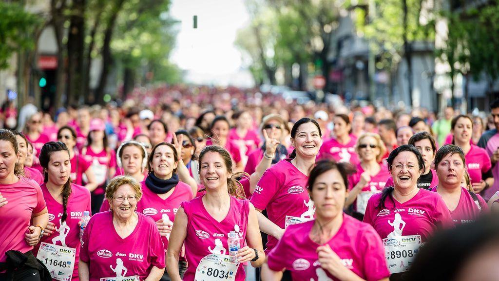 Mujeres a la carrera