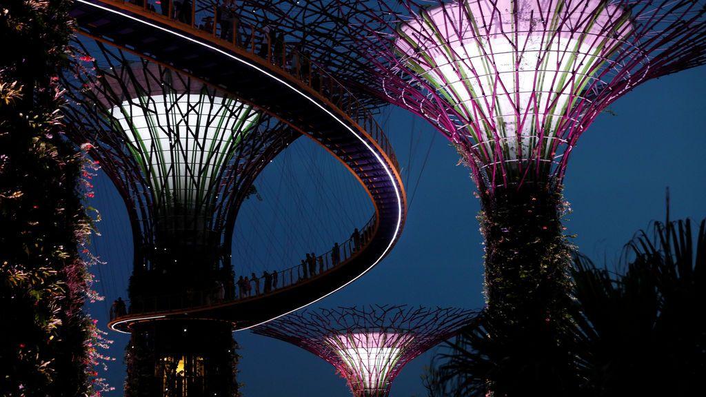 La bahía de Singapur