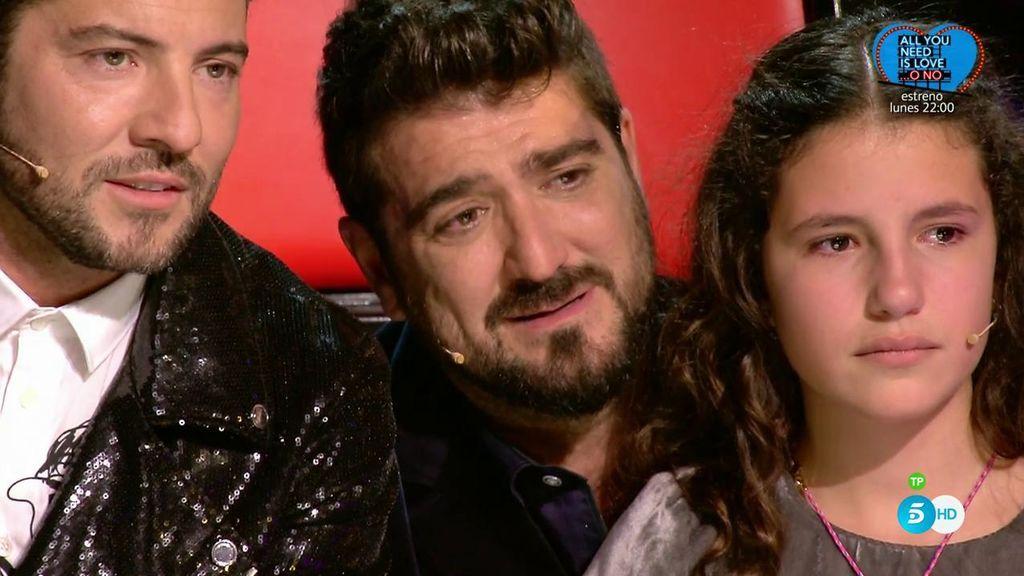 El momento más duro de Antonio Orozco: Su gran amigo muere durante la final de 'La Voz Kids'