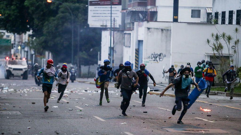 Muere un joven herido en las manifestaciones contra Maduro en Zulia