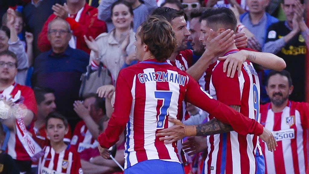 El Atlético se afianza en la tercera plaza y cree en la Champions