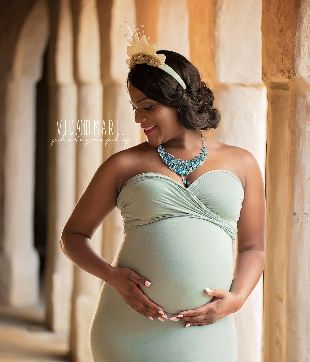 ¿Cómo serían las princesas Disney embarazadas?
