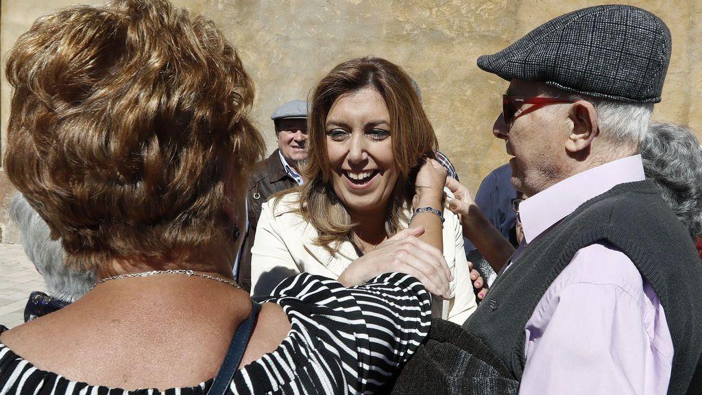 """Susana Díaz: """"No pediré el apoyo a Patxi López para ir contra Pedro Sánchez ni a Sánchez para ir contra López"""""""