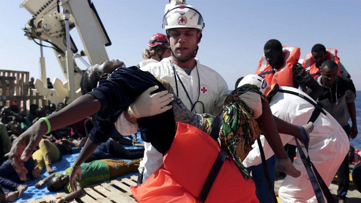 Rescatan a más de 3.000 personas en 24 horas en el Mediterráneo