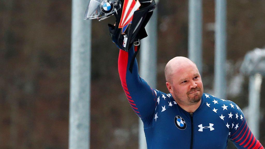 Hallan muerto al campeón olímpico de bobsleigh Steven Holcomb