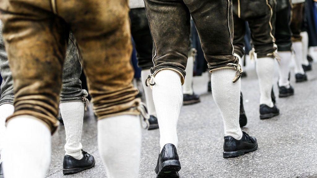 Tiroleses de desfile