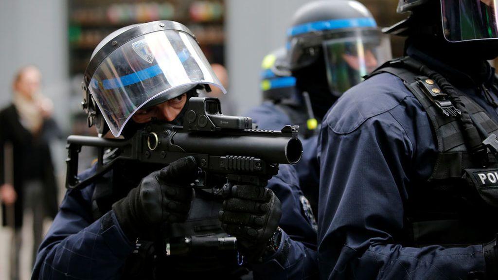 Dos heridos y siete detenidos en Nantes en una protesta contra el triunfo de Macron