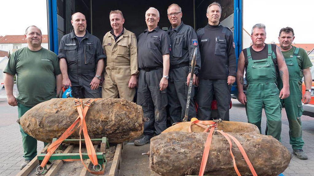 Paralizan la desactivación de una bomba de la segunda guerra mundial en Hannover