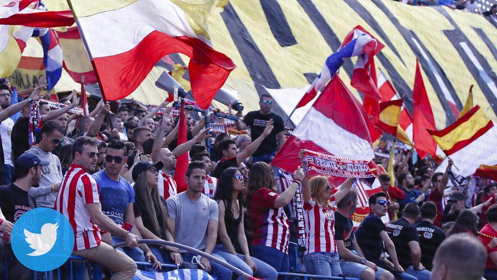 ¿Dardo al madridismo? Los tuits de la cuenta oficial del Atlético de Madrid
