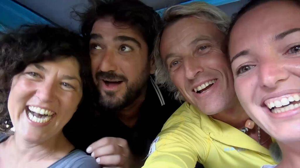 ¡Around the world! ¿Cómo meter a Antonio Orozco y Jesús Calleja en un coche diminuto?