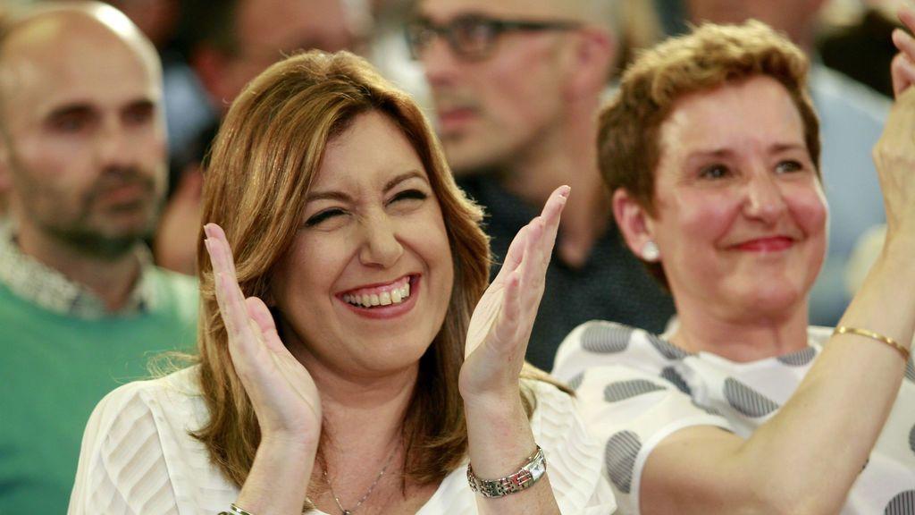"""Susana Díaz: """"Deseamos que el pueblo apueste por Europa y frenen la ultraderecha"""""""