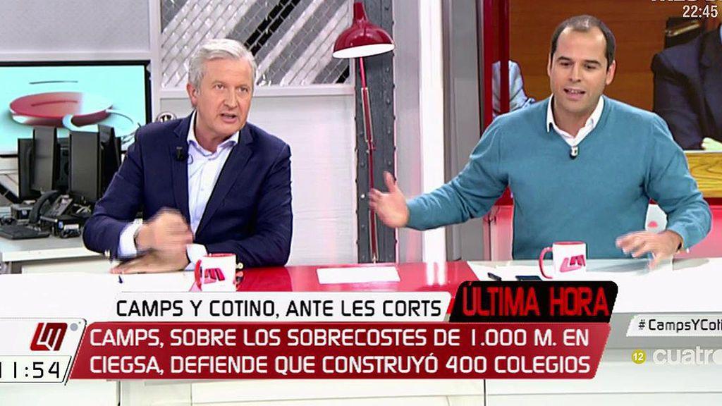 """I. Aguado, a Emilio del Río: """"No te lo acepto, Ciudadanos no tiene corruptos"""""""