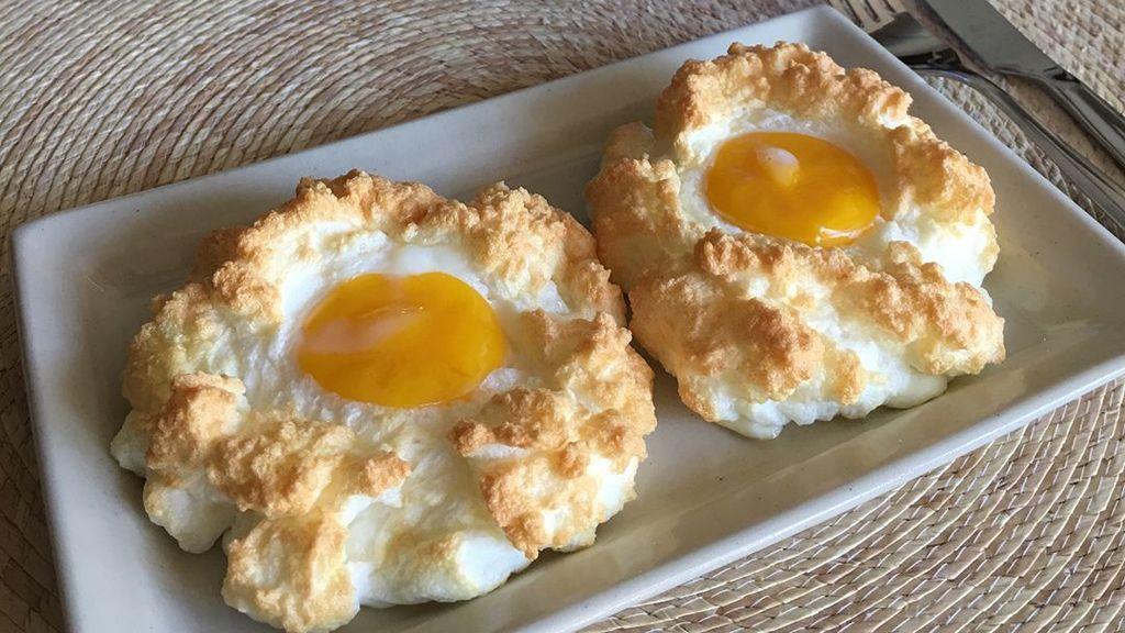 Los 'huevo nube': la nueva moda gastronómica que ha conquistado Instagram
