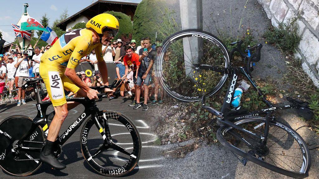 El campeón del Tour, Chris Froome, atropellado en Francia mientras entrenaba