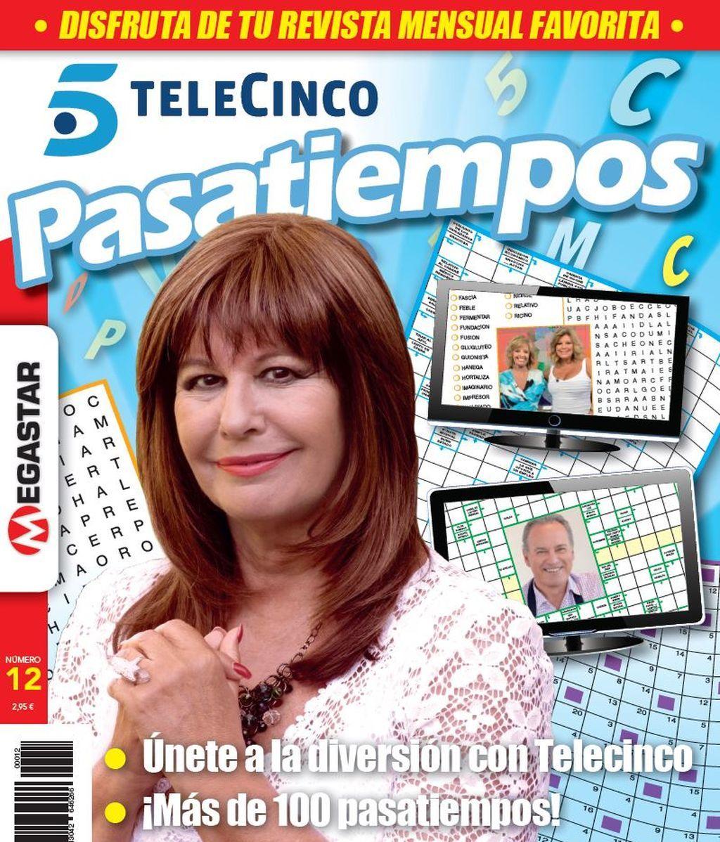 Ya en tu kiosko el nuevo Pasatiempos de Telecinco! Este mes con ¡Esperanza Gracia!