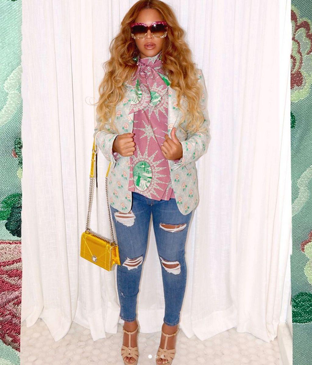 Beyoncé o cómo hacer de los looks premamá todo un arte