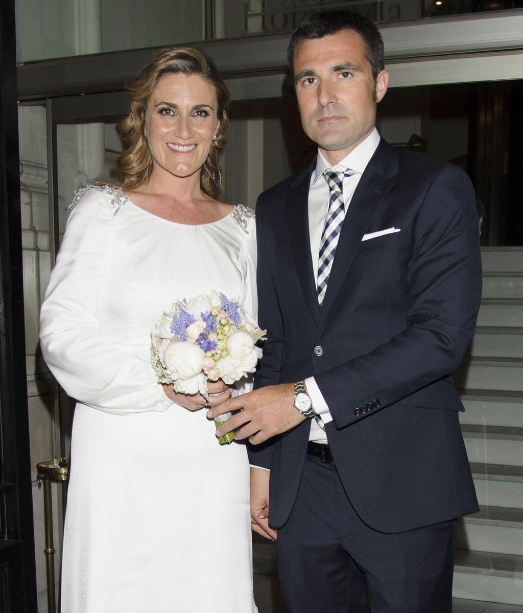 Carlota corredera boda