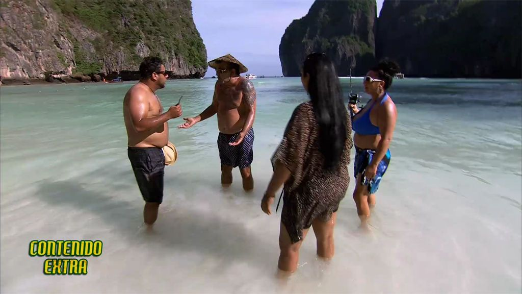Contenido extra: Joaquín y Mariano intentaban pescar en Tailandia y acaban enfrentados
