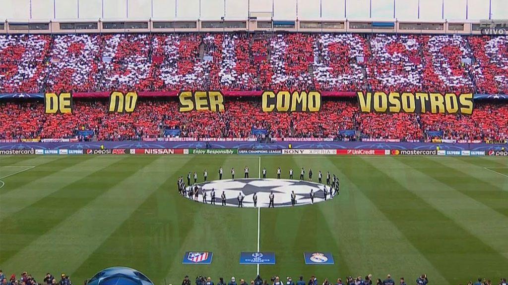 """El Calderón responde al madridismo: """"Orgullosos de no ser como vosotros"""""""