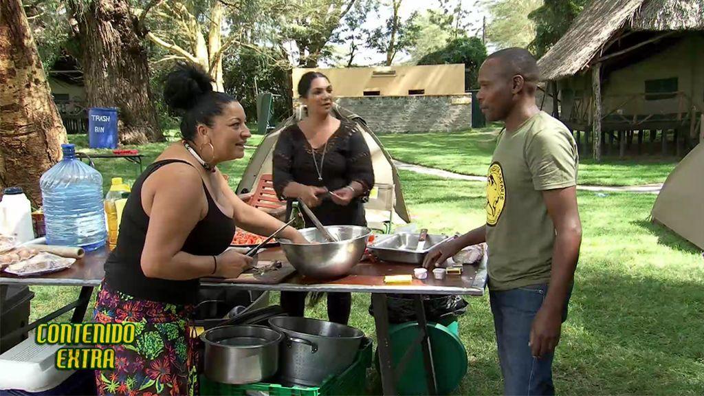 Contenido extra: El 'arroz gipsy' de Loli y Mora en Kenia