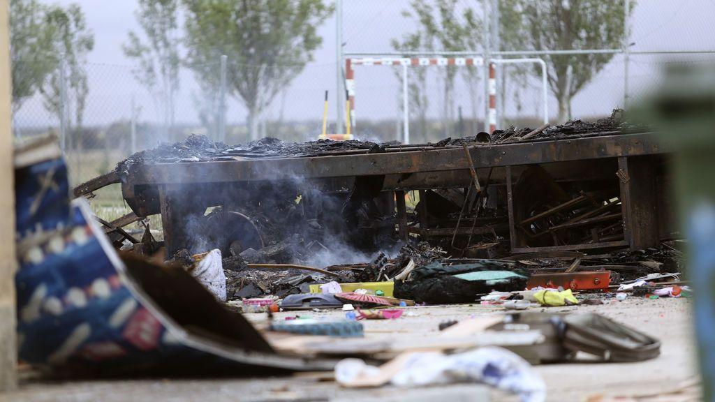 Muere un feriante al explotar su caravana en Salamanca