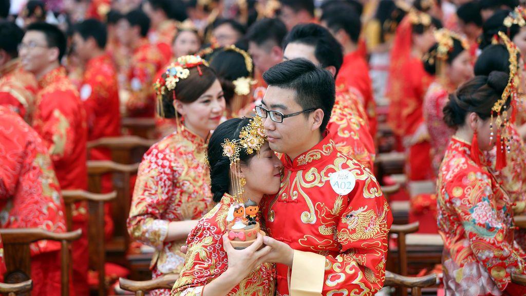 Una boda en Hangzhou