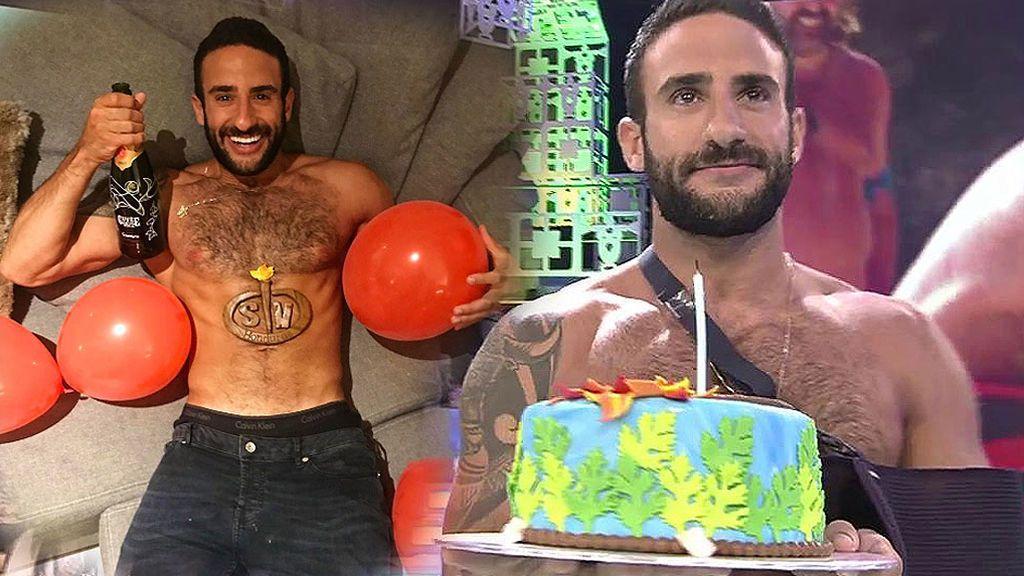 Así terminó el mejor cumpleaños de Eliad Cohen