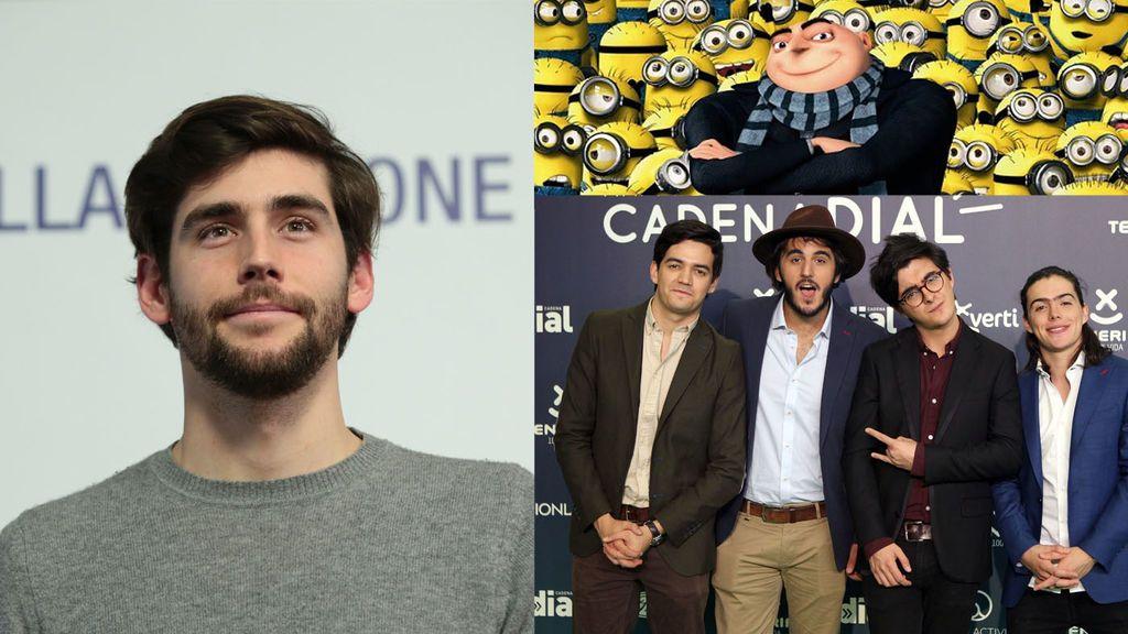 Morat y Alvaro Soler ponen música a la tercera parte de 'Gru, mi villano favorito'