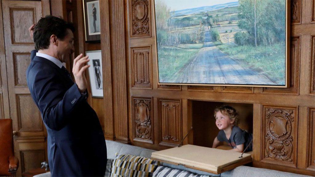 La visita más esperada por Justin Trudeau en su despacho de primer ministro