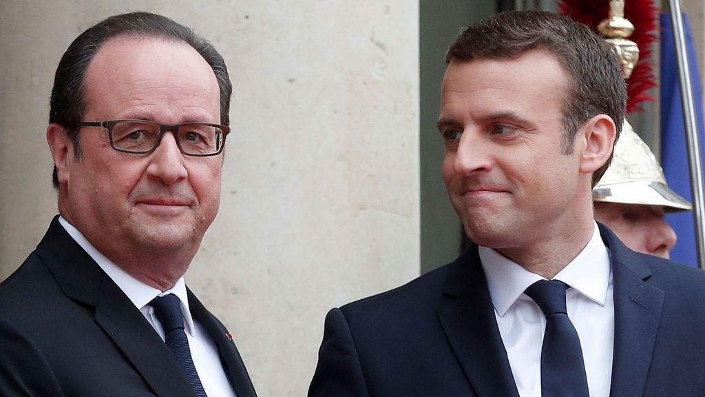 Hollande abandona el Elíseo para dar paso a la Presidencia de Macron