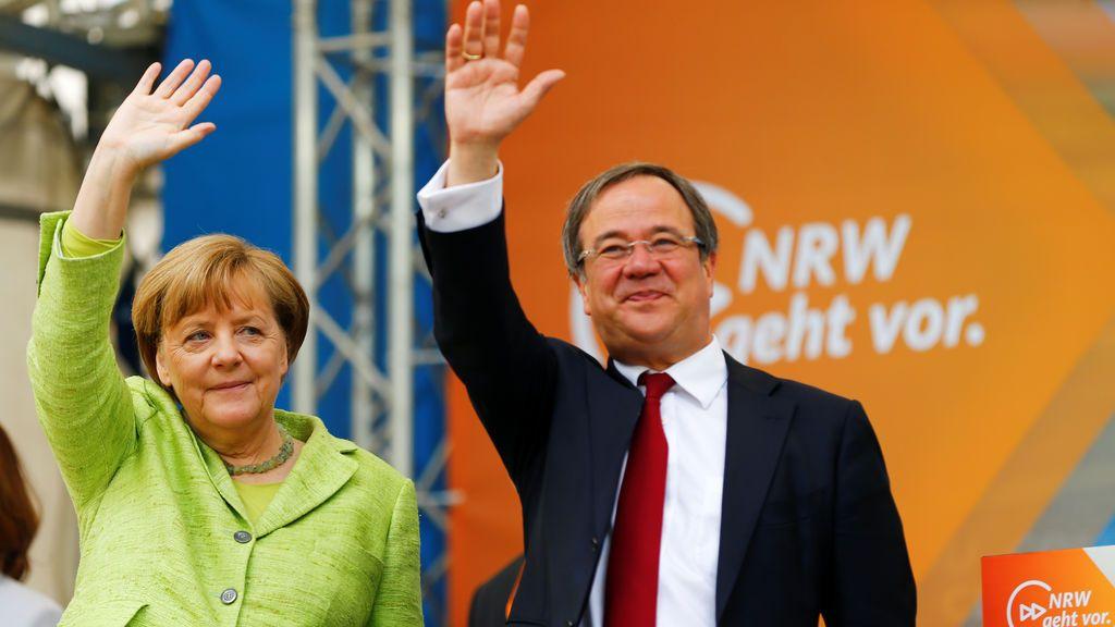 Merkel derrota a los socialdemócratas de Schulz en su feudo de Renania-Westfalia