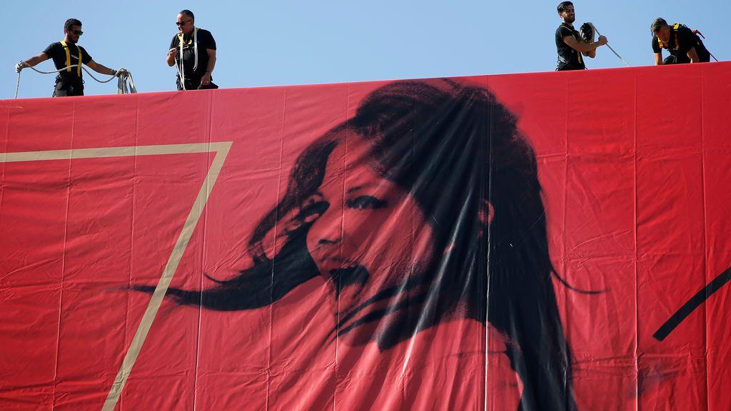Claudia Cardinale, imagen de una nueva edición de Festival de Cannes