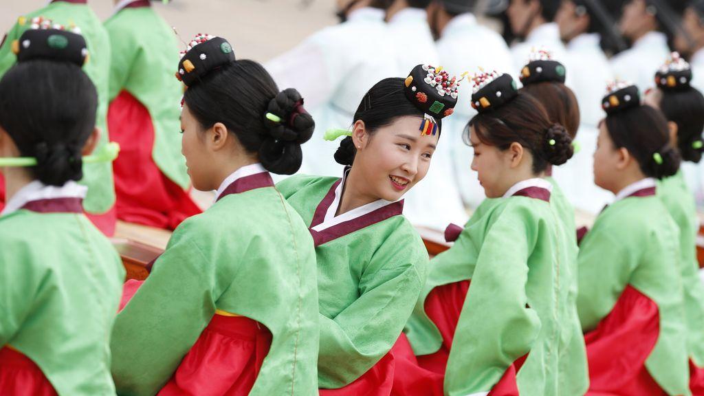 Fiesta de la madurez en Corea del Sur