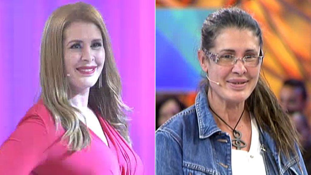 De Rojo Y Con Escotazo Estíbaliz Sanz Vuelve A Ser La Mujer Explosiva Que Era Antes