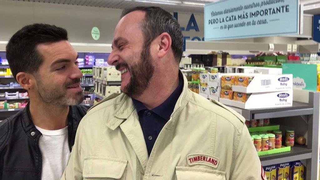 Roger Gonsálbez sorprende a Nacho Montes con una pizza baja en calorías