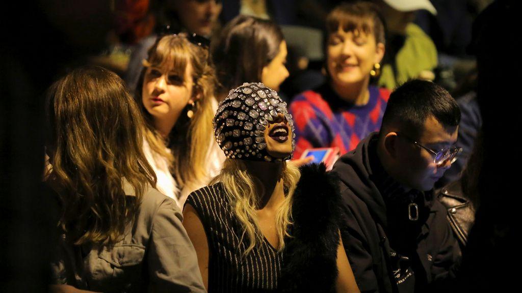 El público de la Semana de la Moda de Australia