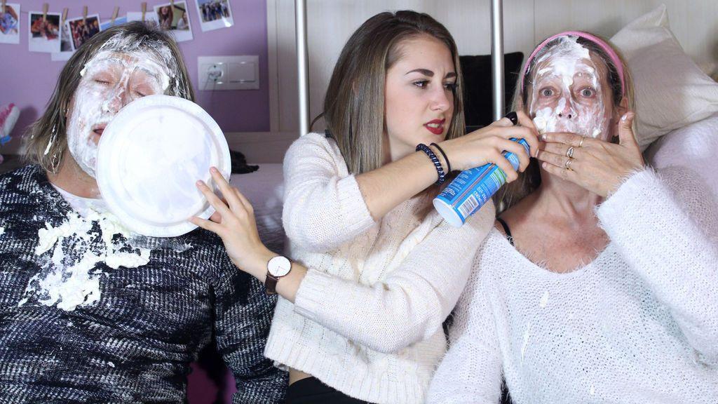 It's Judith: A tartazo limpio con mamá y papá