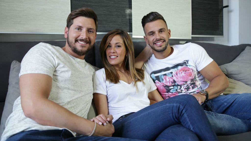 Manu, Susana y Cristian, la familia que surgió de 'Myhyv'