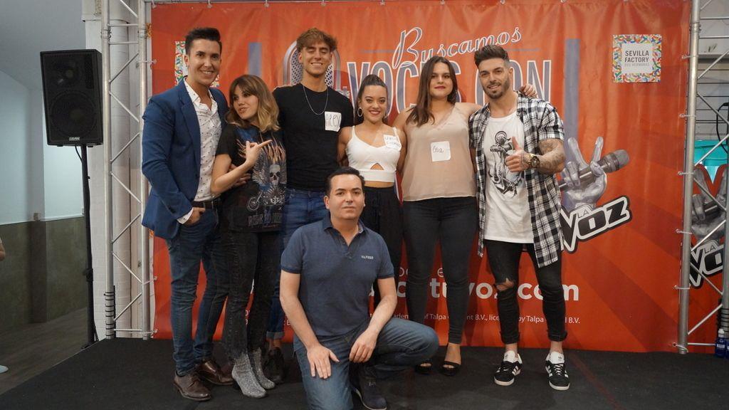 'Gana con tu voz' en Sevilla