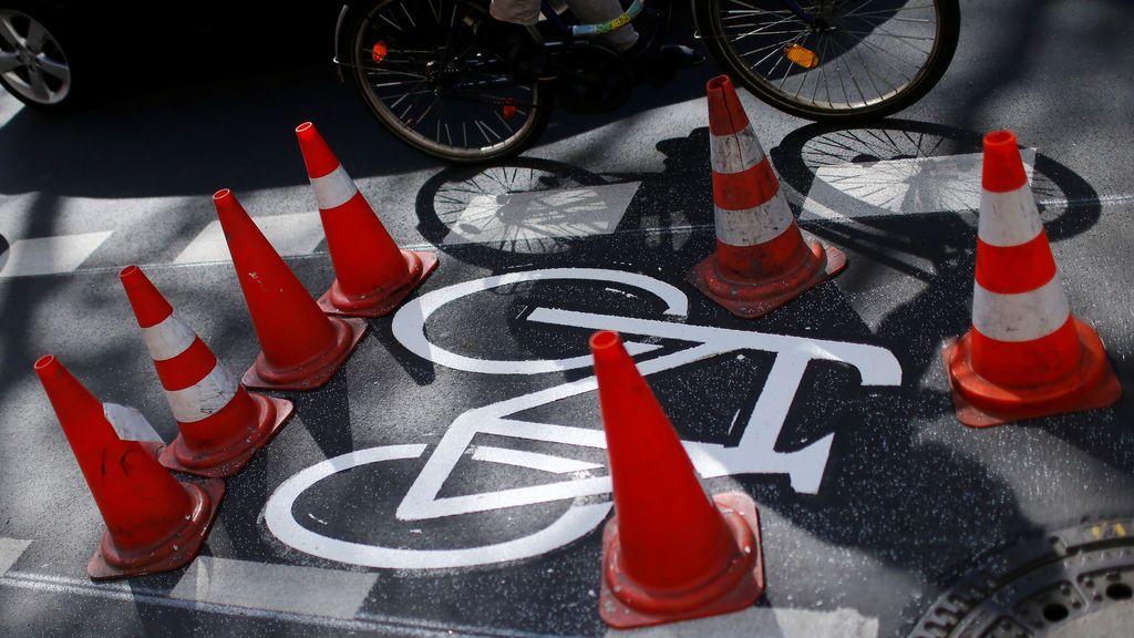 Señal de tráfico para las bicicletas
