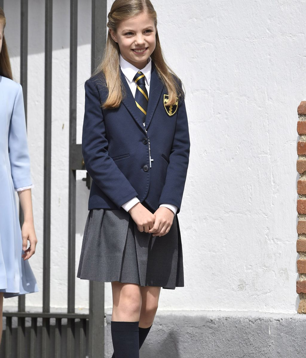 Las primeras imágenes de la Comunión de la Infanta Sofía