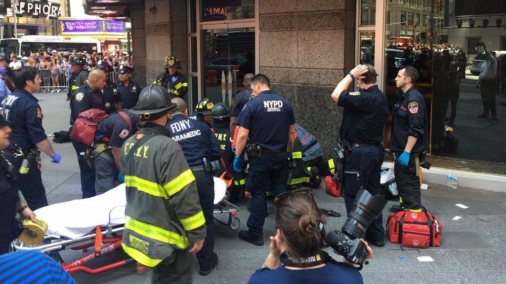 Atropello en Nueva York: las imágenes del accidente mortal en Times Square