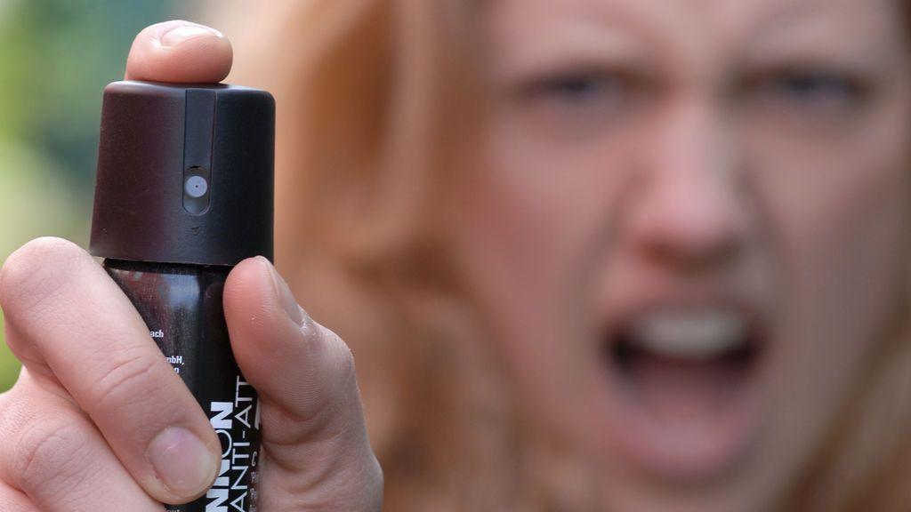 Rocían con spray de pimienta a unos estudiantes de Ohio como ejercicio de clase