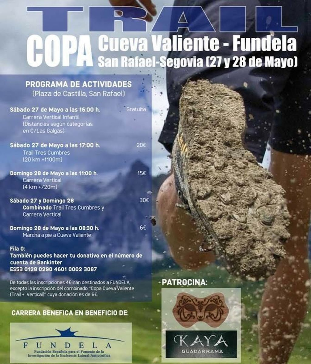 Trail copa Cueva Valiente-Fundela