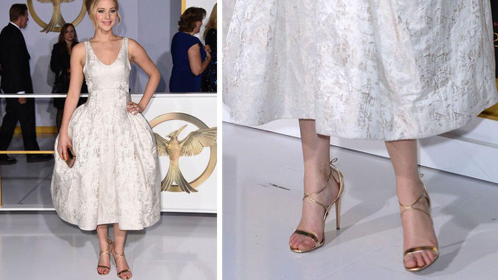 La razón por la que las celebrities llevan los zapatos una talla más grande