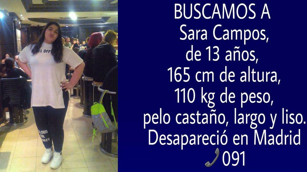 Se busca a una menor de 13 años que desapareció en Madrid cuando iba al colegio