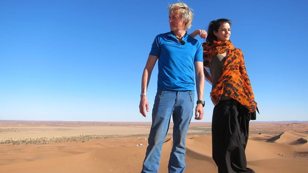 Clara Lago pisa a fondo el acelerador ante los rigores del desierto en 'Planeta Calleja'