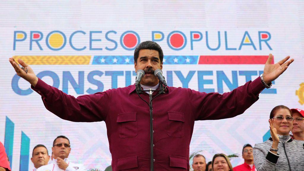 """Maduro a Trump: """"Saca tus manos cochinas de Venezuela. Go home, Donald Trump!"""""""