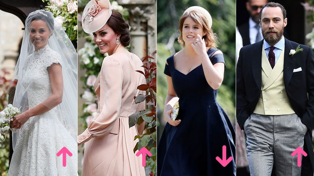 Aciertos y errores en la boda de Pippa Middleton y James Matthews