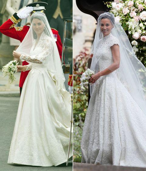 Tres Diferencias Y Una Similitud De Los Vestidos De Novia De